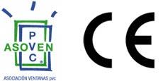 logo Asoven y marcado CE